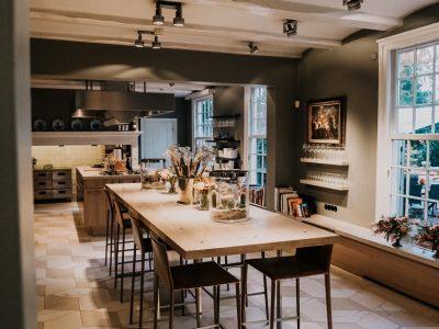 Keuken van Huis de Salentein